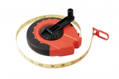 Heavy Duty 20m/66ft Metric Imperial Measuring Tape Measure Extra 15mm Wide Blade