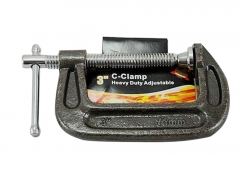 "Heavy Duty Drop Forged G C Clamp Grip Woodworking Welding Metalworking Option:3""/4""/8""/12"""