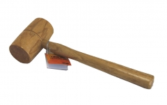 Double Face Wood Wooden Mallet Hammer for Carpentry Furniture Option: 60mm/70mm