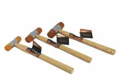 Two Way Double Faced Plastic Mallet Soft Hammer Option: 22mm/27mm/32mm