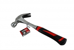 Bent Claw Hammer One-piece-all Solid Steel Resist-Shock Handle Option:16/20oz