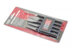 5pc Chisel & Punch Set: 2pc Cape Cold Chisel;3pc Center, Pin,Taper Punch