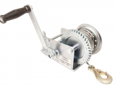 800kg Hand Winch Boat Winch with 5mm Dia 10mtr Heavy Duty Cable For Boat Trailer 4WD