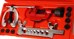 "3/16""-5/8"" 7 Size Tube Flaring & Cutting Kit with Adapter Expanding Tube & 3-30mm Cutter"