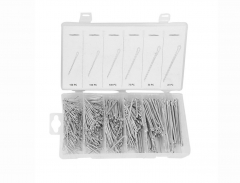 555pc 6 Sizes Cotter Pin Split Fixings Securing Locking Fastener Assortment