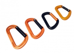 4pc Aluminium Forged Snap Hook Clip Camping Hiking Carabiner Holder