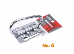 Scaffolders Tool Holder Cutters Pliers Wrench Spanners Belt Clip Holder Fixed Carabiner hook 110mmLx55mmW #6