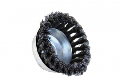 Crimped / Knotted (Twisted) Steel Wire Wheel Disc Cup Brush 65/75/100/150mm