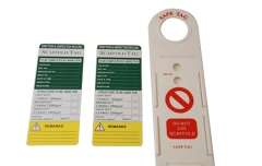Scafftag Scaffold Scaffolding Safe Tag Erection Record Option: Tags/Tag+Holder
