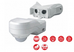 Brennenstuhl German 230V PIR Motion Movement Detector Alarm Angle 240 R 12m PIR 240 IP44
