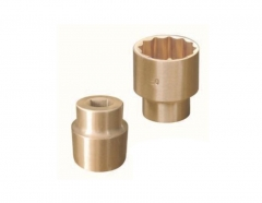 "Non-Sparking Sparkproof Al-Br Alloy Brass 3/4""Dr 12PT Socket Spark Proof"