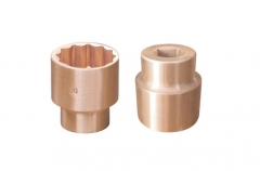 "30mm Non-Sparking Sparkproof Be-Cu Copper 1/2""Dr 12PT Socket Certified"