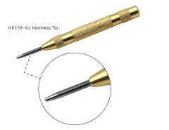 130mm Automatic Center Punch HRC 58-62 Greased Tip