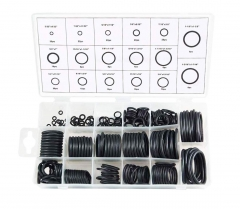 222pc 17 Size O - Ring Assortment Imperial / SAE Rubber Washer Kit
