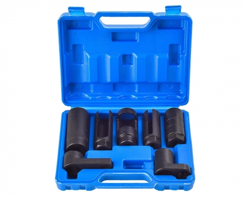 7pc Oxygen Sensor Socket Oil Pressure Sending Unit Remover Set