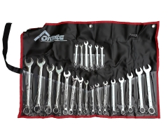 22pc Cr-V Combination /Ring Open End Spanner Metric & SAE/AF Imperial Set