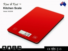 5KG KITCHEN SCALE-Digital LCD Food Weight Scale Glass Platform Batteries Include
