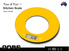 Kiwi & Keet 10KG KITCHEN SCALE - Digital LCD Food Weight Scale Batteries Include
